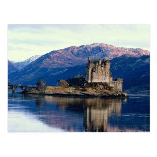Eileen Donan Castle, Loch Duich, Scotland Postcard
