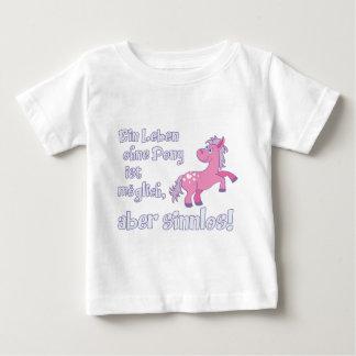 ein leben ohne pony ist möglich aber sinnlos baby T-Shirt