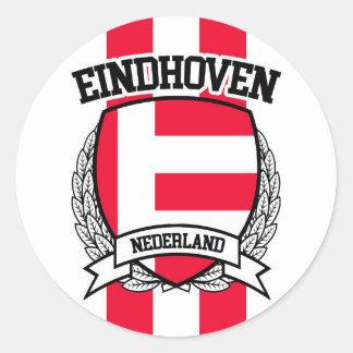 Eindhoven Classic Round Sticker