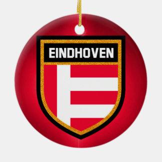 Eindhoven Flag Ceramic Ornament