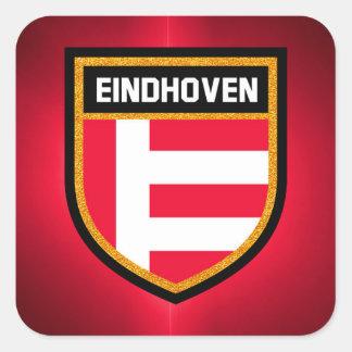 Eindhoven Flag Square Sticker