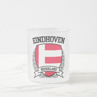 Eindhoven Frosted Glass Coffee Mug