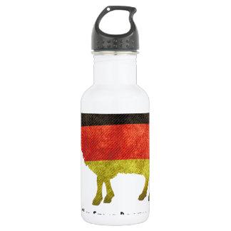 Eine Nation von Schafen kann nur eine Regierung .. 532 Ml Water Bottle