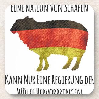 Eine Nation von Schafen kann nur eine Regierung .. Coaster