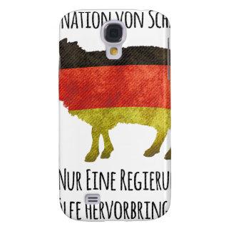 Eine Nation von Schafen kann nur eine Regierung .. Galaxy S4 Case