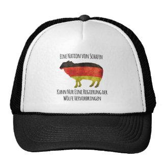 Eine Nation von Schafen kann nur eine Regierung .. Hats