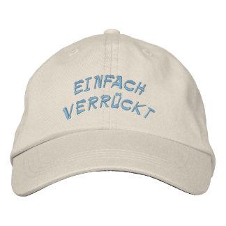 Einfach Verrückt - Just Crazy Embroidered Baseball Cap