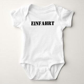 EINFAHRT BABY BODYSUIT