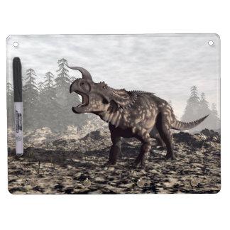 Einiosaurus dinosaur - 3D render Dry Erase Board With Key Ring Holder