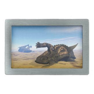 Einiosaurus dinosaurs dead belt buckles