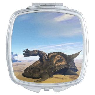 Einiosaurus dinosaurs dead compact mirrors