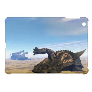 Einiosaurus dinosaurs dead cover for the iPad mini