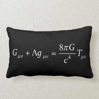 Einstein field equation lumbar cushion