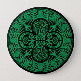 Eire: Celtic Irish ambigram 10 Cm Round Badge