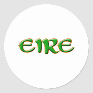 Eire Eltic Text Sticker