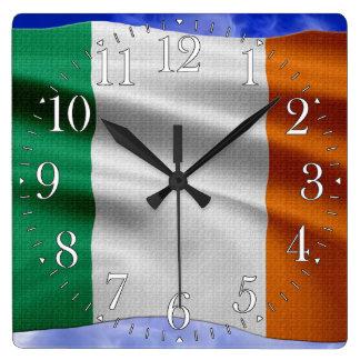 EIRE - IRELAND Flag Proud Patriotic Wall Clock