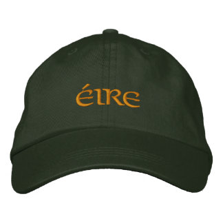 Éire (Ireland) Flexfit fitted baseball hat Embroidered Baseball Cap