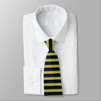Eire of Dame Erin Horizontally-Striped Tie
