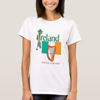 Eire To The World T-Shirt