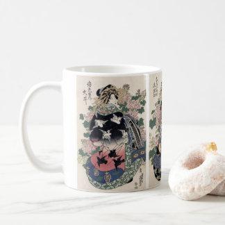 Eisen Japanese Geisha Print Mug