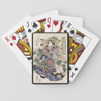 Eisen Ukiyo-e Geisha Poker Deck