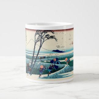 Ejiri in Suruga Province Large Coffee Mug