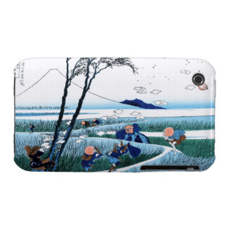 Ejiri in the Suruga province Katsushika Hokusai Case-Mate iPhone 3 Cases