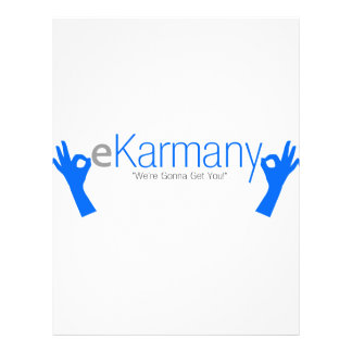 eKarmany- We re Gonna Get You Custom Flyer