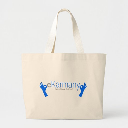 """eKarmany- """"We're Gonna Get You!"""" Bags"""
