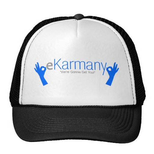 "eKarmany- ""We're Gonna Get You!"" Hats"