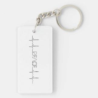 EKG Nurse keychain
