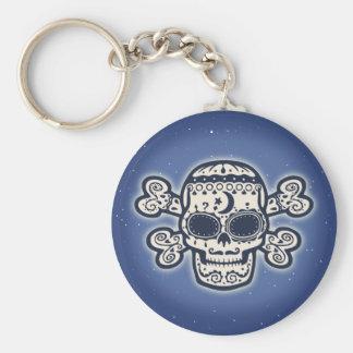 El Brujo Basic Round Button Key Ring