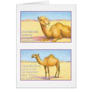 El Camello, tarjeta Card