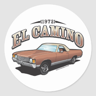 "El Camino 72 3"" Sticker"