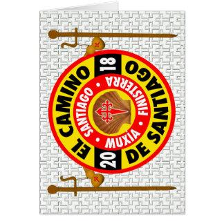El Camino de Compostela 2018 Card