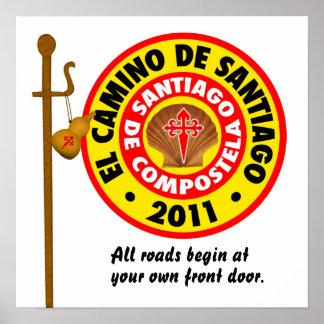 El Camino De Santiago 2011 Poster
