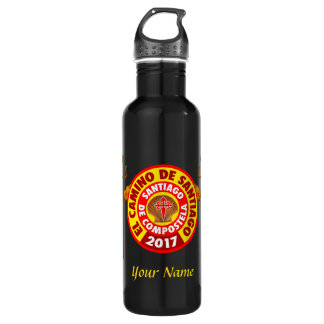 El Camino de Santiago 2017 710 Ml Water Bottle