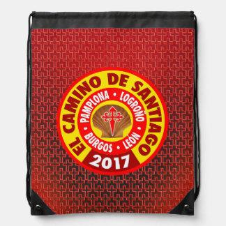 El Camino de Santiago 2017 Drawstring Bag