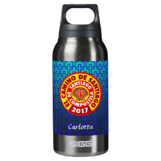 El Camino de Santiago 2017 Insulated Water Bottle