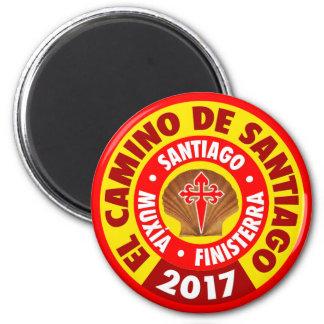 El Camino De Santiago 2017 Magnet