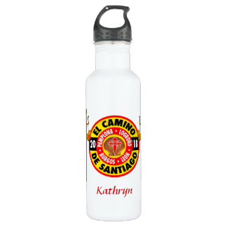 El Camino De Santiago 2018 710 Ml Water Bottle
