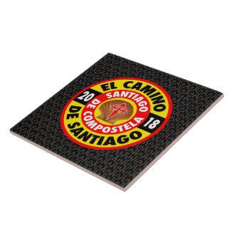 El Camino de Santiago 2018 Ceramic Tile