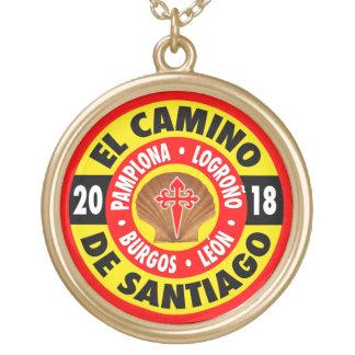 El Camino de Santiago 2018 Gold Plated Necklace