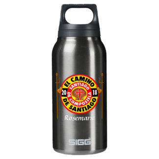 El Camino de Santiago 2018 Insulated Water Bottle