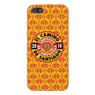 El Camino de Santiago 2018 iPhone 5/5S Case