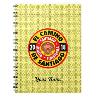 El Camino de Santiago 2018 Notebook