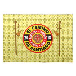El Camino de Santiago 2018 Placemat
