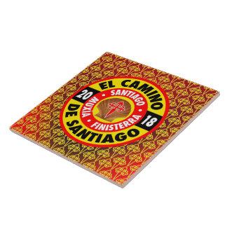 El Camino de Santiago 2018 Tile