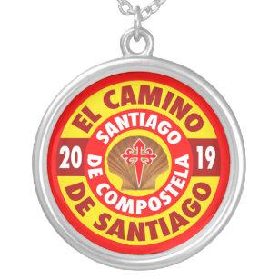 El Camino de Santiago 2019 Silver Plated Necklace