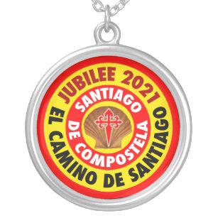 El Camino de Santiago  2021 Silver Plated Necklace